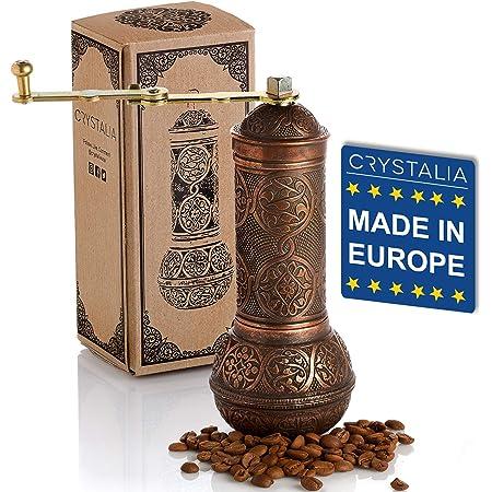 Pasamer Manual Acero Inoxidable Granos de caf/é Molinillo Hierbas port/átiles Pimienta Especias Molino Molienda Herramienta 02