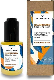 Illuminated Serum facial con Vitamina C Pura y 19 activos 100% Naturales y 53 % Ecológicos. Súper hidratante Antiedad Ant...