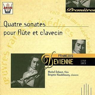 Devienne : Quatre sonates pour flûte et clavecin