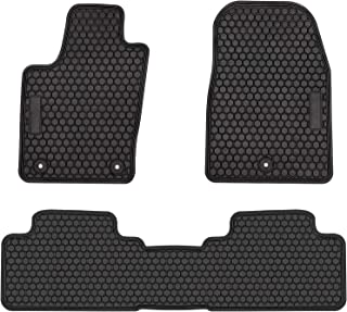 E-cowlboy Car Floor Mats for Jeep Grand Cherokee 2011~2019 Heavy Duty Rubber Floor Liners Vehicle Carpet Custom Fit - All Weather Odorless (Black)