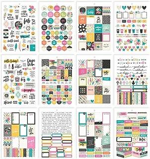 Carpe Diem by Simple Stories A5 Sticker Tablet - Good Vibes