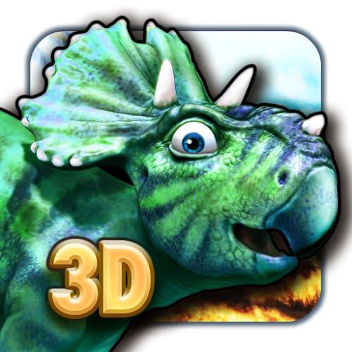 Dinosaurier verlorene Welt der Giganten Puzzle 3D gratis für Kinder mit farbenfrohen 3D Dinosauriern und prähistorischen Tier Puzzles für Jungen und Mädchen