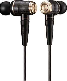 JVC HA-FX1100 WOODシリーズ カナル型イヤホン リケーブル/ハイレゾ音源対応 ブラック