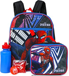 spiderman lunch box set