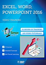 Office 2016 Training by Simon Sez IT: 21 Hours of Excel 2016, PowerPoint 2016 and Word 2016 Self-Paced Training| Exercise Files Included