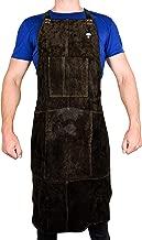Waylander Leather Welding Apron Flame Resistant Heavy Duty Bib 40