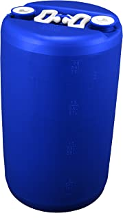 20 Gallon Emergency Water Storage Drum, Blue - New! - Boxed!