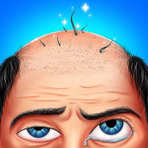 Hair Transplant Salon & Hospital - Kostenlose Notfall-Doktor-Spiele für Kinder