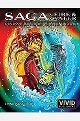 Saga: Fire & Water: Fantasy Art Adult Coloring Book Paperback