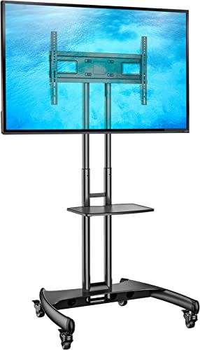 North Bayou Universal Mobile TV Cart TV Stand with Mount for LED LCD Plasma Flat Panel Screens and Displays 32'' to 6...