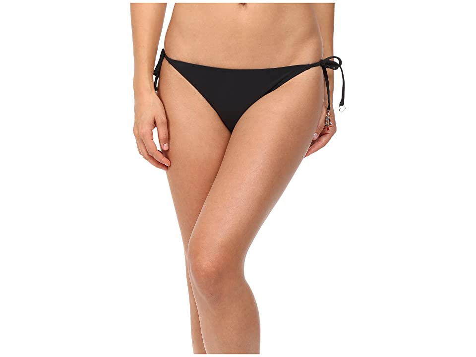 Stella McCartney Timeless Basics Tie Side Bikini Bottom (Black) Women