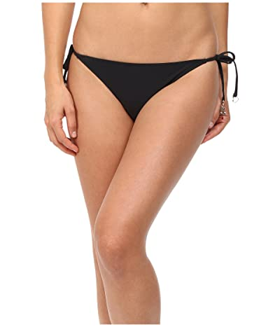 Stella McCartney Timeless Basics Tie Side Bikini Bottom (Black) Women