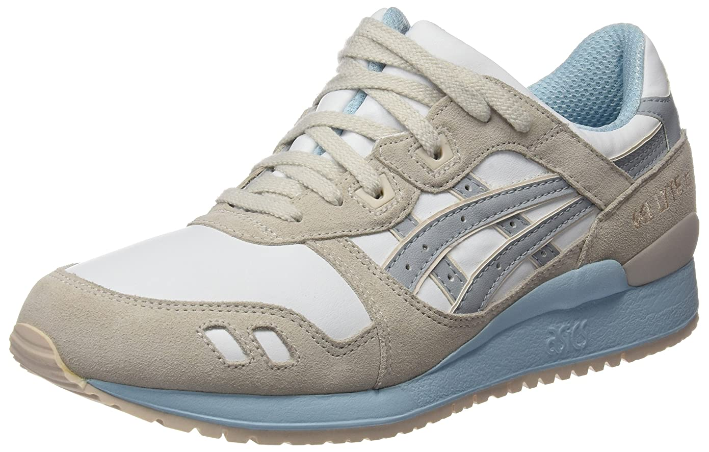 傾向帽子珍しいASICS ZAPATILLA H6U9L-0113 GEL-Lyte III GRAY 24,5 Grey