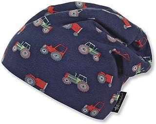 f573322c2caae Sterntaler Bonnet Slouch avec motif tracteur pour garçons