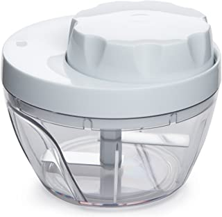 Carefree Kitchen X70113 Twisting Vegetable Chopper, White