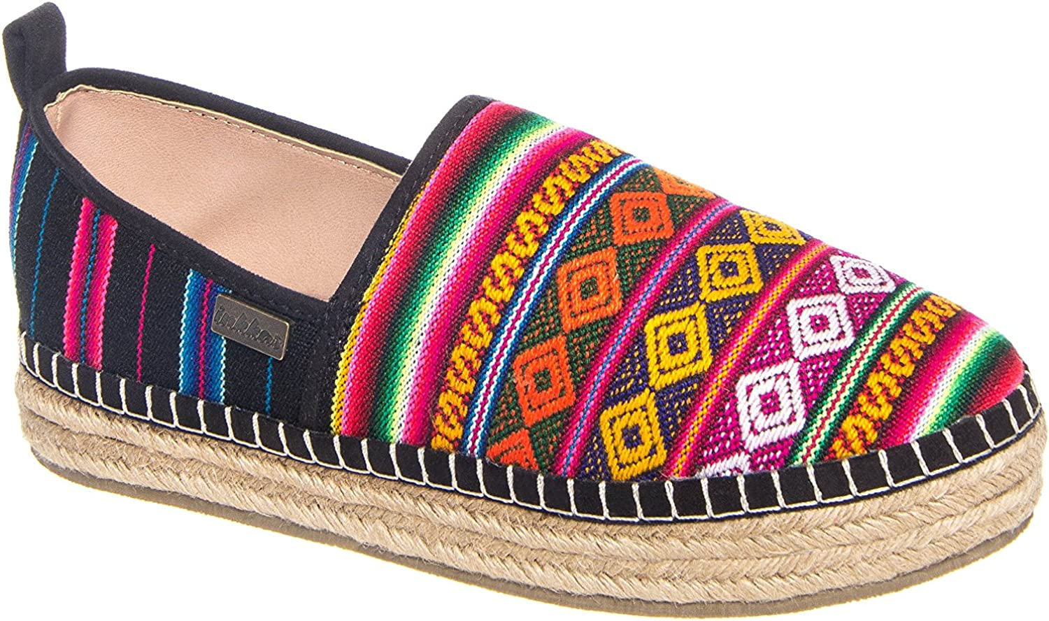 Inkkas shoes Black Spectrum Platform Espadrille