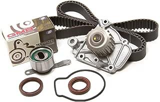 Evergreen TBK224WPT Fits Honda Civic DelSol SL 1.6L D16Z6 Timing Belt Kit Water Pump