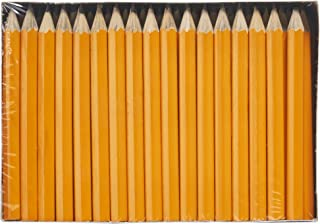 Dixon Golf Pencils, #2 HB Soft, Pre-Sharpened, Yellow, 144 Count (14998)