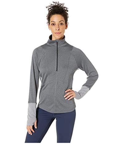 The North Face Ambition 1/4 Zip (Mid Grey Heather Heather) Women