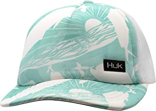 Huk Women's KC Pattern Foam Flats Trucker Hat