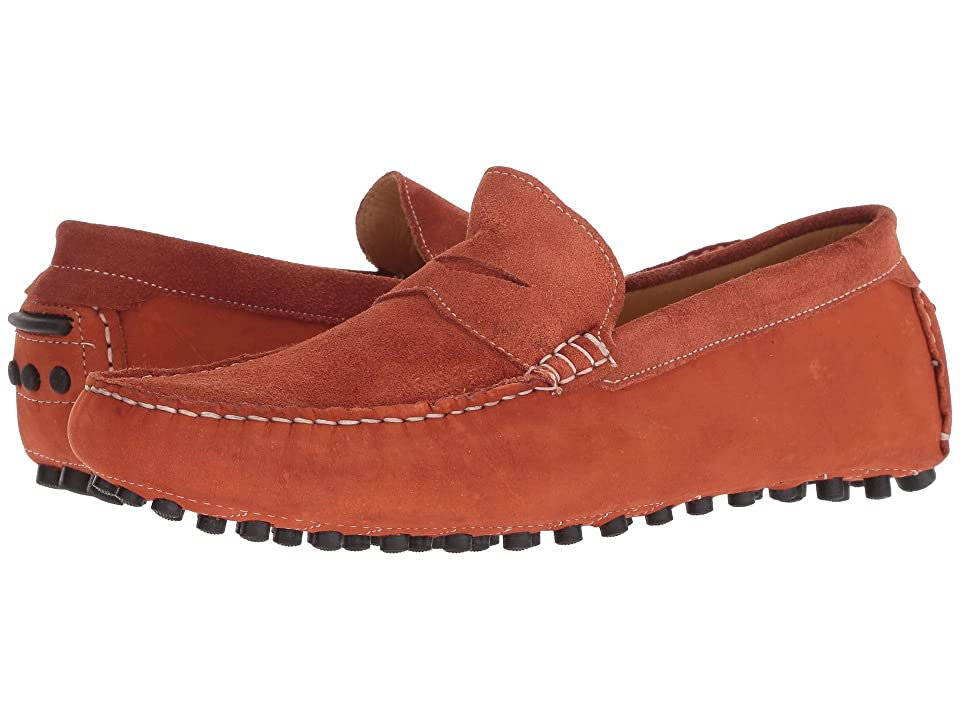 Massimo Matteo Suede Nubuck Penny (Orange) Men