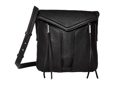 Vince Camuto Mika Crossbody (Nero) Handbags