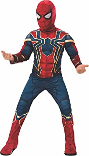 iron spiderman toddler costume