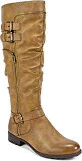 Best brown buckle boots Reviews