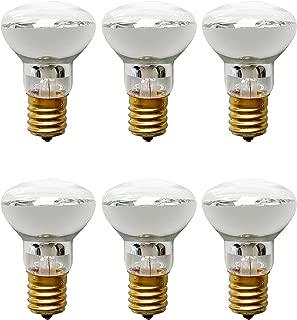 R39 E17 Replacement Light Bulb Motion Lamp 30 Watt Reflector Type (6 Pack)
