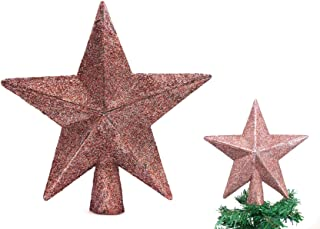 Best blush pink christmas tree topper Reviews