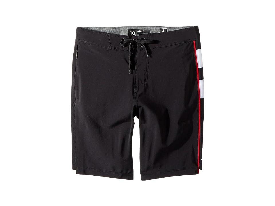 Hurley Kids Phantom JJF 4 Boardshorts (Big Kids) (Black) Boy