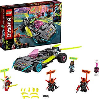 LEGO NINJAGO Ninja Tuner Car 71710 Toy Car for Kids Building Kit, New 2020 (419 Pieces)
