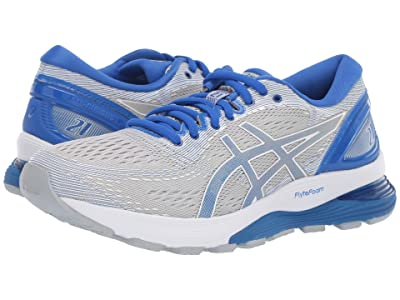 ASICS GEL-Nimbus(r) 21 Lite-Show (Mid Grey/Illusion) Women