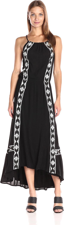 Ella Moss Womens Usiku Midi Dress Dress
