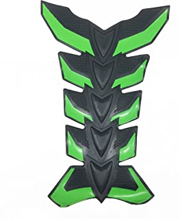 8' Green 3D Rubber Side Tank Pad Protector for GSXR CBR NINJA YZF All Motorcycles