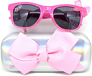 Kids Sunglasses with Matching Glasses Case and UV Protection