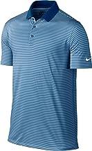 Nike Camiseta Polo de Golf para Hombre Pequeña Azul