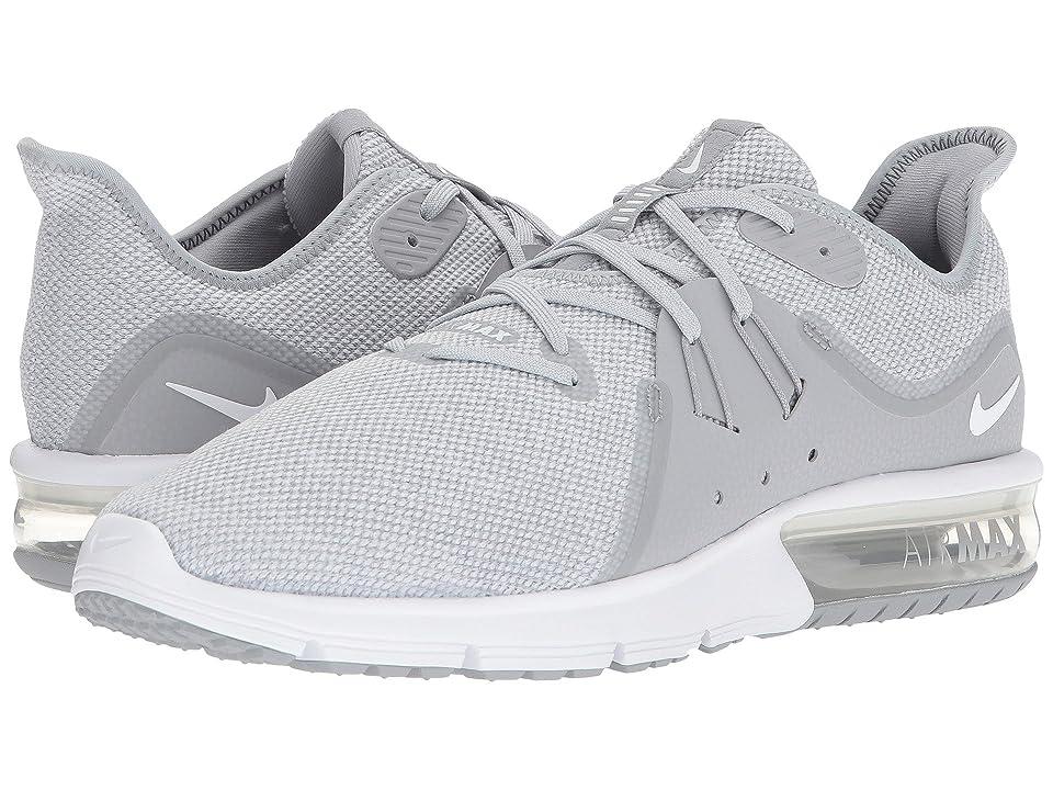 Nike Air Max Sequent 3 (Wolf Grey/White/Anthracite/Metallic Platinum) Men