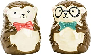 Boston Warehouse 57142 Salt & Pepper Shaker Set Hedgehogs, 2-Piece