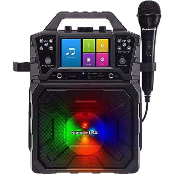 Karaoke USA Karaoke (SD520),Black
