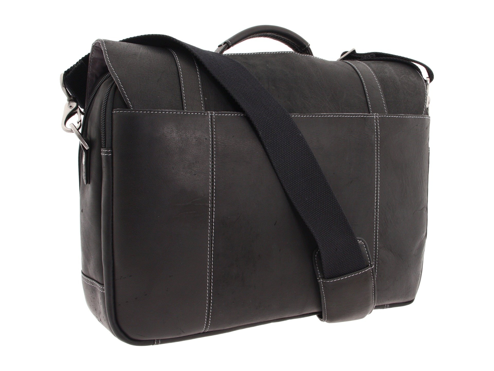 Kenneth Cole Reaction Colombian Leather - Flapover Portfolio ...