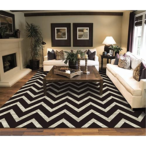 Black and white living room decor - Living room area rugs ...