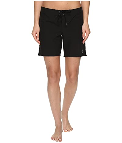 Roxy To Dye 7 Boardshort (True Black) Women