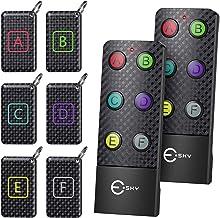 Schlüsselfinder, Esky Key Finder mit 2 RF Sender, schlüsselfinder anhänger mit 6..