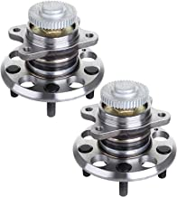 ECCPP Replacement for Pair of 2 New Complete Rear Wheel Hub Bearing Assembly 5 Lugs w/ABS for 2006-2009 Hyundai Sonata 512265¡Á2