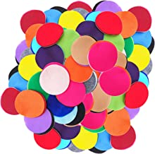 Playfully Ever After 3/4 Inch Mixed Color Assortment 150pc Felt Circles