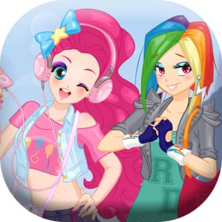 Dress up modern pony girl