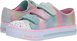SKECHERS KIDS Twinkle Toes - Shuffles Ms. Mermaid 10912L Lights (Little Kid/Big Kid)