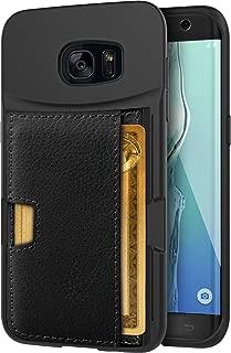 Silk Galaxy S7 Edge Wallet Case - Q CARD CASE [Samsung Slim Protective Kickstand CM4 Grip Cover] -