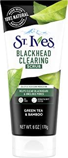 St. Ives Blackhead Clearing Green Tea Face Scrub, 170 gm